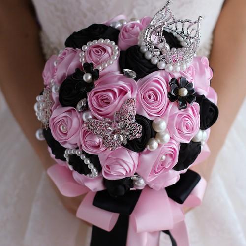 Vous cherchez un beau bouquet de mariée nuptiale? Les meilleures idées de bouquets de mariage - photo