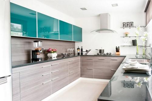 Conception de cuisine dans différents styles - idées de photos