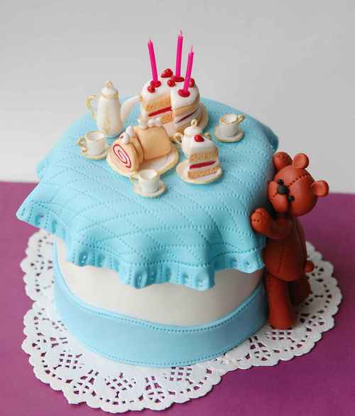 Gâteaux de bébé - idées de conception de photos