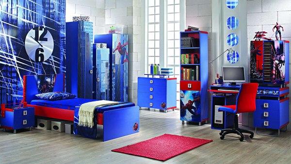 Design élégant d'une chambre d'enfant pour garçons, photos, idées