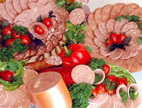 Saucisse originale tranchée - idées photo