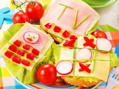 Sandwichs originaux - idées de conception de photos